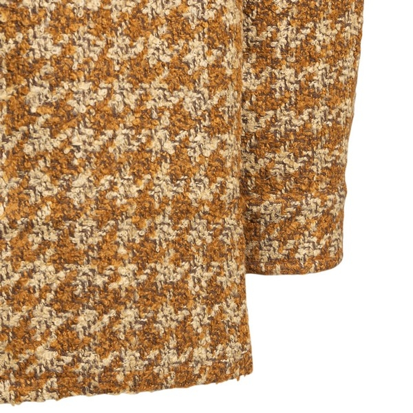 Yellow and beige houndstooth shirt                                                                                                                     DROLE DE MONSIEUR