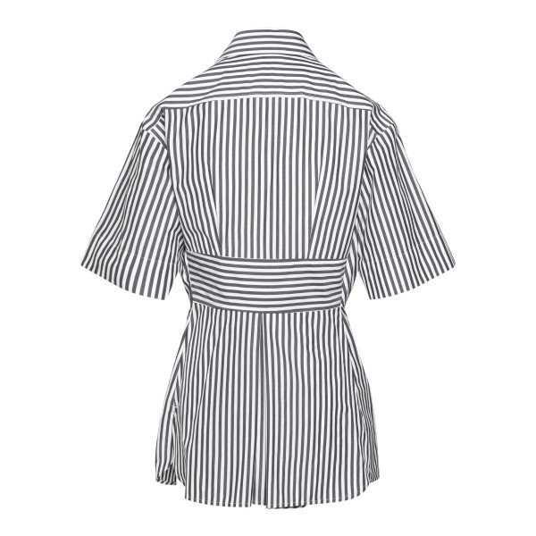 Striped shirt with knot                                                                                                                                SPORTMAX