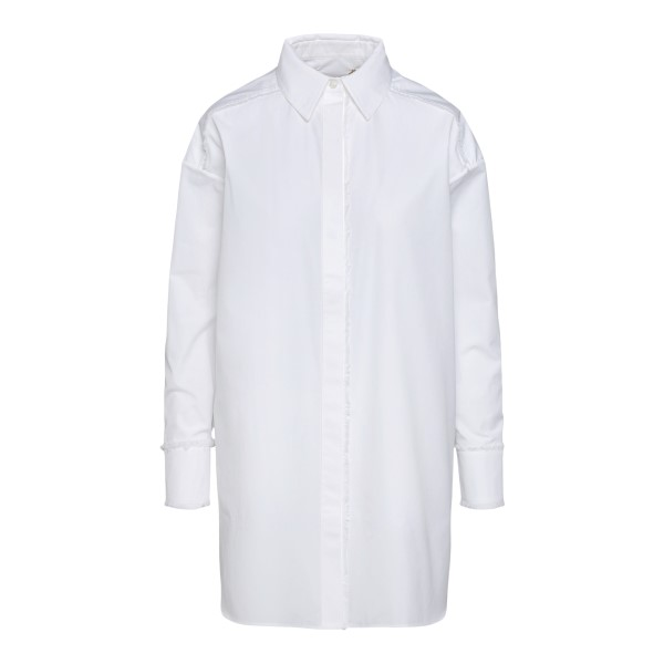 Long white shirt                                                                                                                                      Golden Goose GWP00897 back