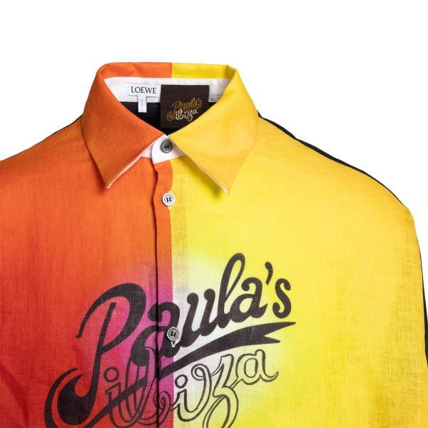 Long shirt with sunset print                                                                                                                           LOEWE PAULA'S IBIZA