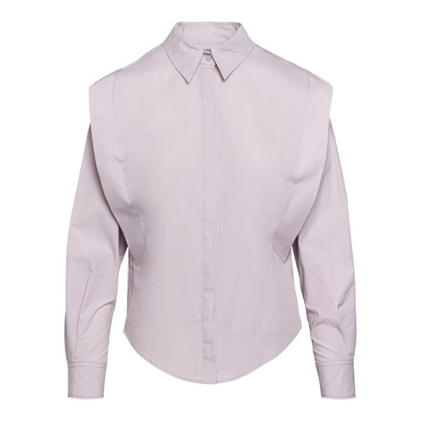 Lilac shirt in layered design                                                                                                                         Isabel Marant HT2060 back