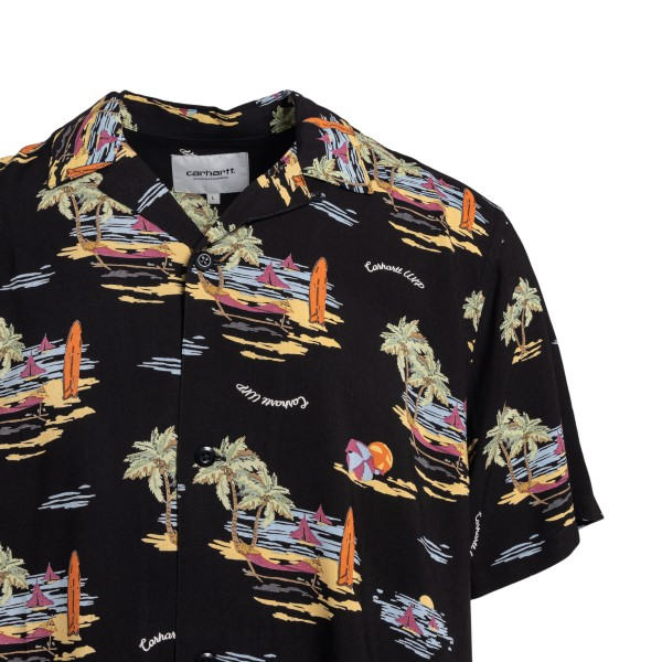 Black shirt with graphic print                                                                                                                         CARHARTT