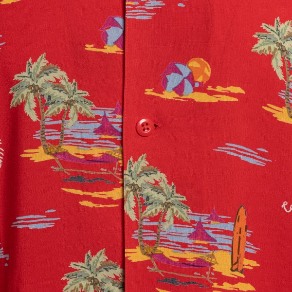 Red shirt with graphic print                                                                                                                           CARHARTT