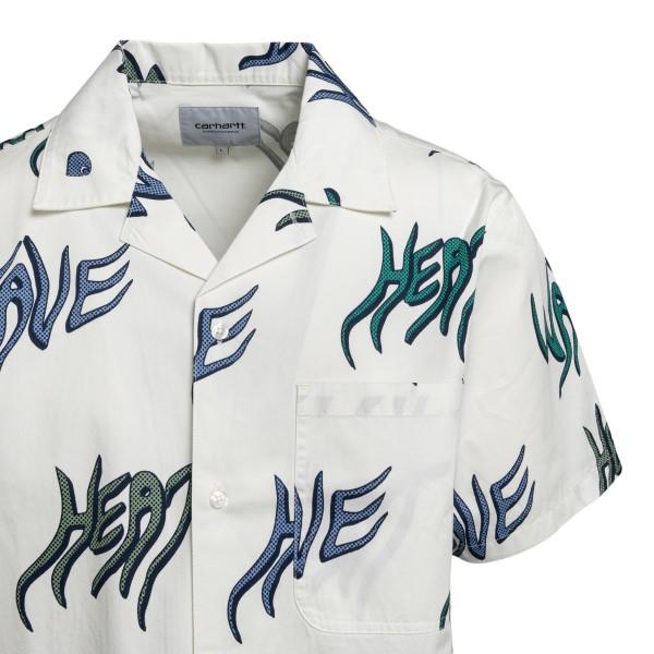 White shirt with written print                                                                                                                         CARHARTT