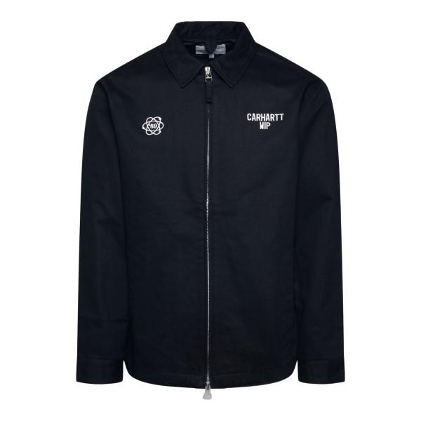 Camicia nera con zip                                                                                                                                  Carhartt I028824 retro