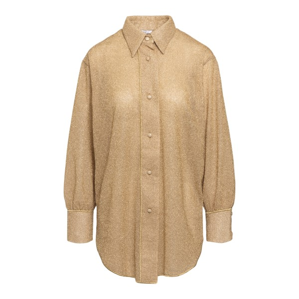 Gold lurex shirt                                                                                                                                      Oseree Swimwear LSF202 back