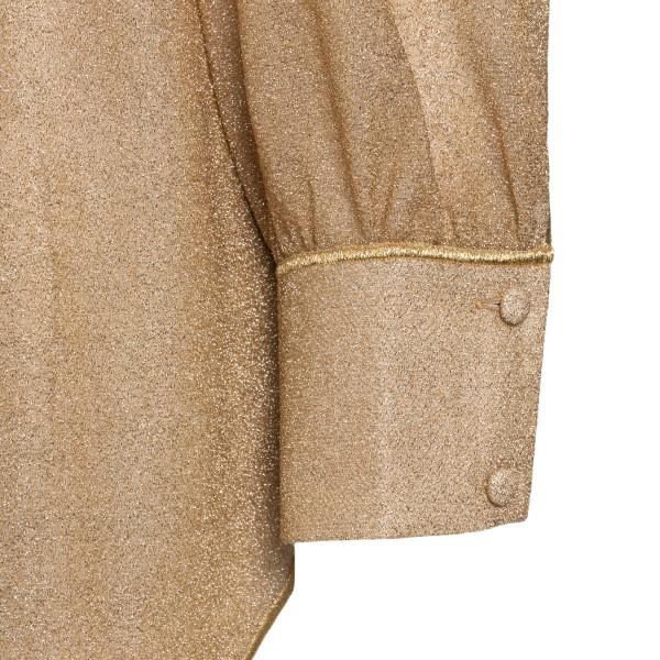 Camicia in lurex oro                                                                                                                                   OSEREE SWIMWEAR                                    OSEREE SWIMWEAR