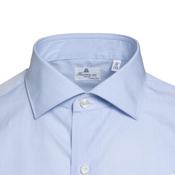 Light blue classic shirt                                                                                                                               FINAMORE
