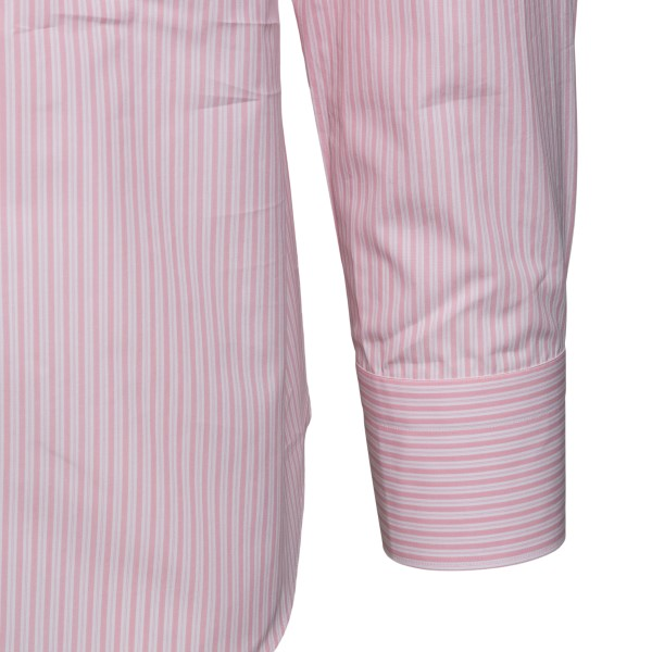Classic pink striped shirt                                                                                                                             FINAMORE