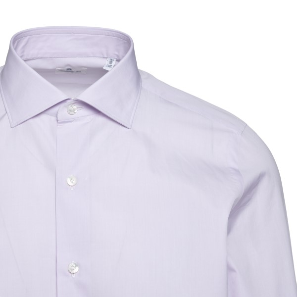 Classic shirt in light lilac                                                                                                                           FINAMORE