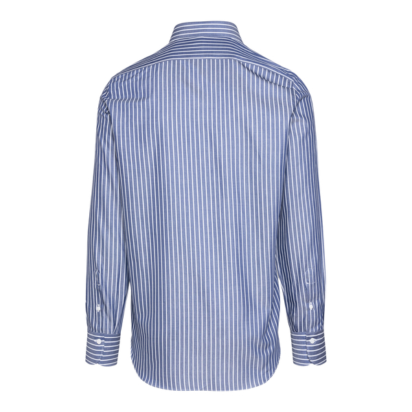 Blue and white striped shirt                                                                                                                           FINAMORE