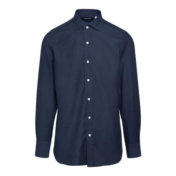 Camicia classica blu                                                                                                                                   FINAMORE                                           FINAMORE