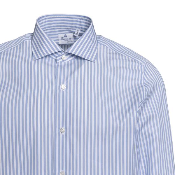 Light blue striped shirt                                                                                                                               FINAMORE