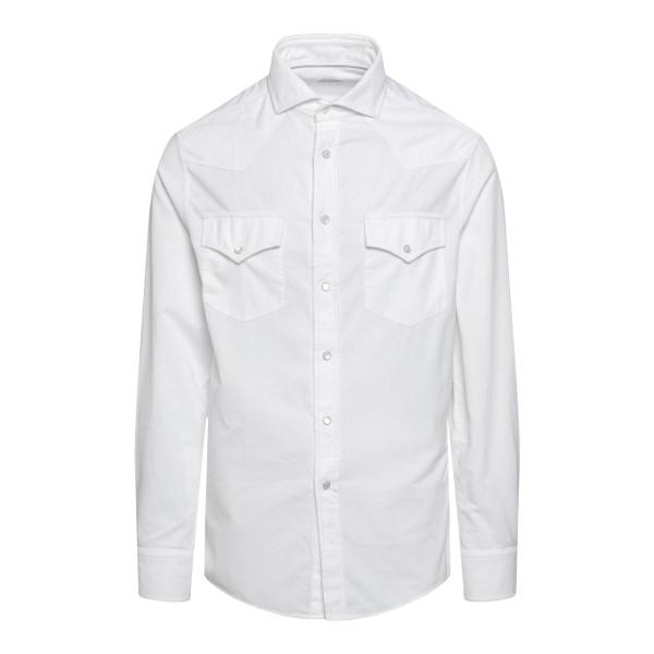 Camicia bianca con taschine                                                                                                                            BRUNELLO CUCINELLI                                 BRUNELLO CUCINELLI