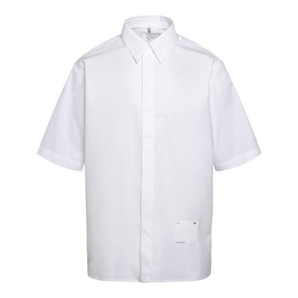 Camicia leggera bianca con patch logo                                                                                                                 Oamc OAMS601968 retro