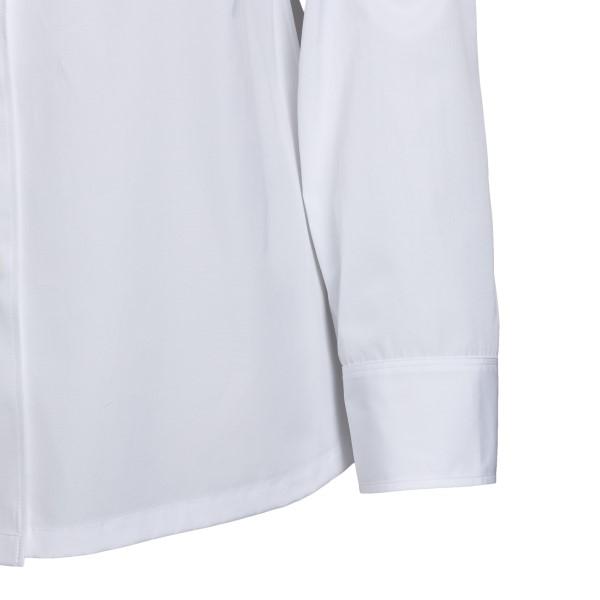Camicia bianca con logo                                                                                                                                PRADA PRADA