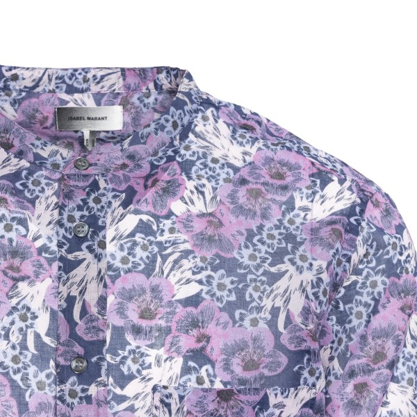 Light multicolored shirt with flowers                                                                                                                  ISABEL MARANT