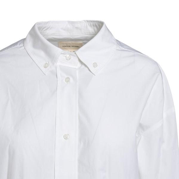 Classic white shirt                                                                                                                                    LOULOU STUDIO