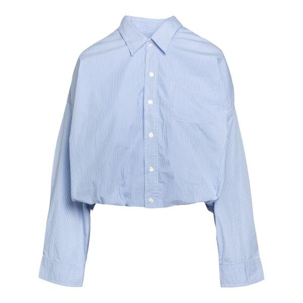 Camicia a righe in stile crop                                                                                                                         R13 R13W9421 retro