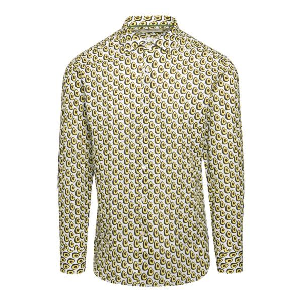 Camicia con pattern avocado                                                                                                                            TINTORIA MATTEI                                    TINTORIA MATTEI