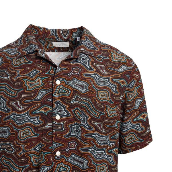 Camicia multicolore a fantasia                                                                                                                         TINTORIA MATTEI                                    TINTORIA MATTEI