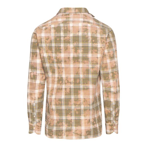 Beige checked shirt                                                                                                                                    TINTORIA MATTEI