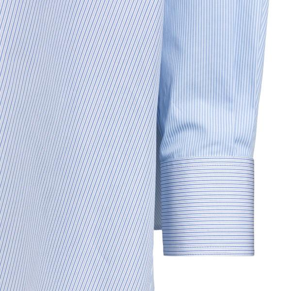 Camicia a righe azzurra oversize                                                                                                                       LOEWE                                              LOEWE