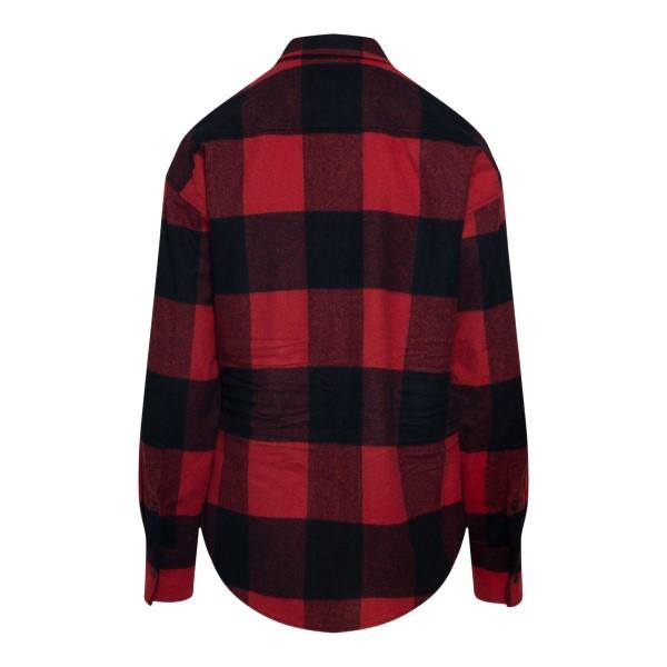 Camicia rossa e nera a scacchi                                                                                                                         DSQUARED2                                          DSQUARED2