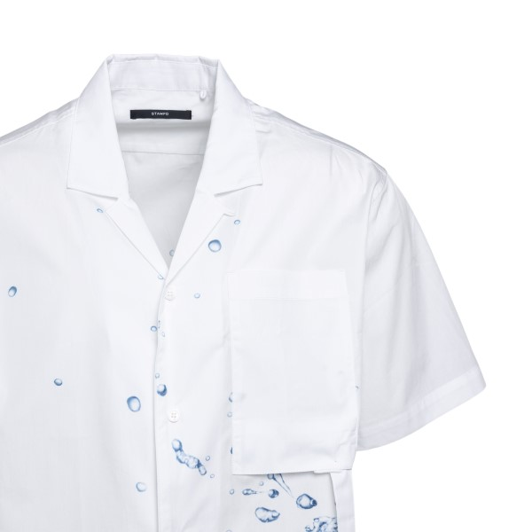 Camicia bianca con gocce d'acqua                                                                                                                       STAMPD STAMPD