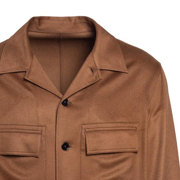 Camicia marrone con tasche                                                                                                                             ZEGNA ZEGNA