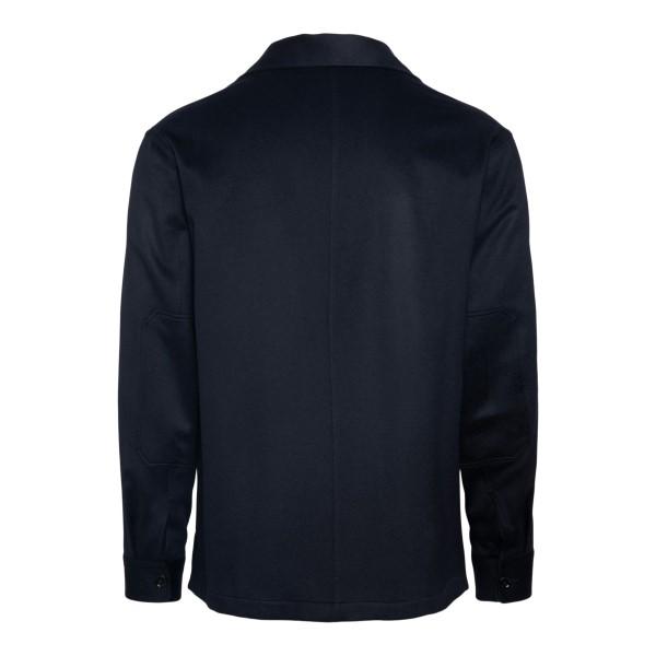 Camicia blu scuro con tasche                                                                                                                           ZEGNA                                              ZEGNA