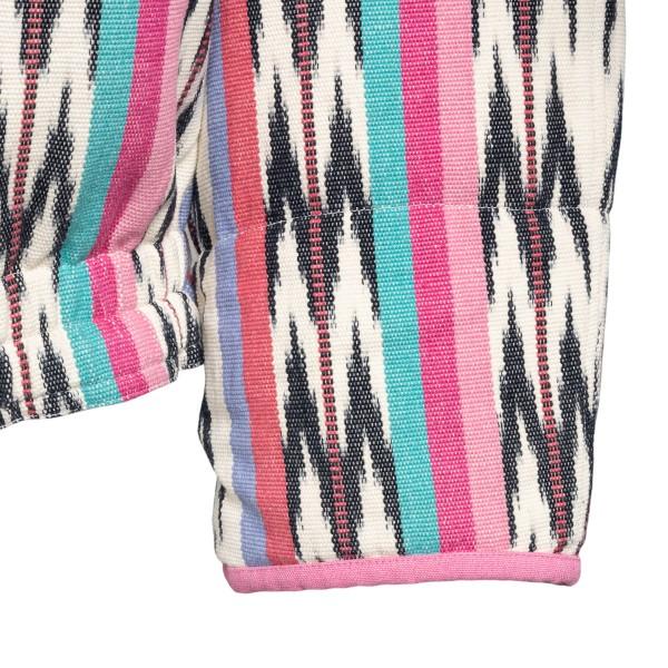 Multicolored jacket with geometric pattern                                                                                                             ISABEL MARANT