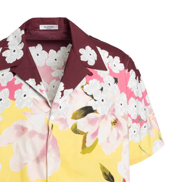 Multicolored shirt with floral pattern                                                                                                                 VALENTINO