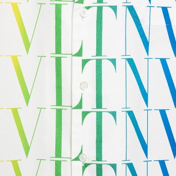 Camicia bianca con logo arcobaleno                                                                                                                     VALENTINO VALENTINO