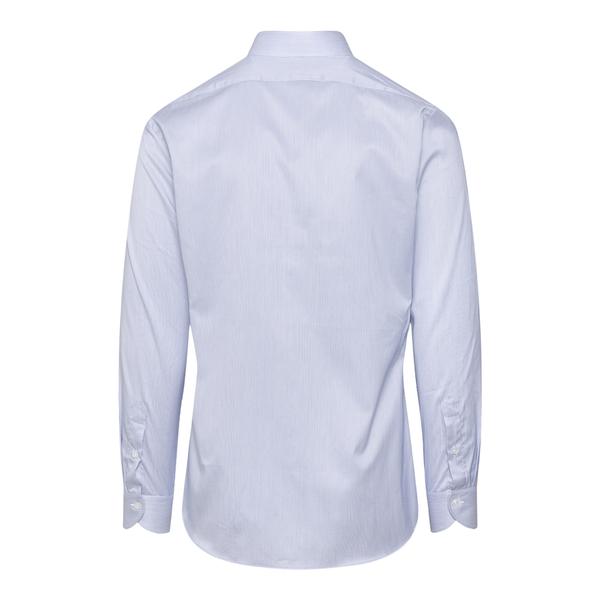 Blue striped shirt                                                                                                                                     XACUS