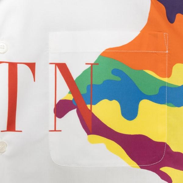 Multicolored shirt with logo                                                                                                                           VALENTINO