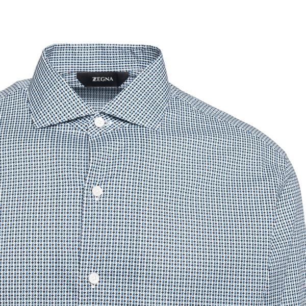 Multicolor geometric printed shirt                                                                                                                     ZEGNA