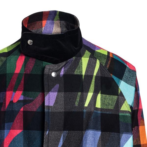 Cappotto multicolore a quadri                                                                                                                          SACAI SACAI