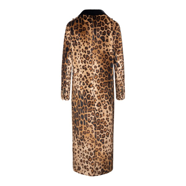 Long animalier coat                                                                                                                                    ETRO