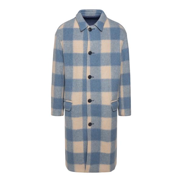 Long checked coat                                                                                                                                      ISABEL MARANT