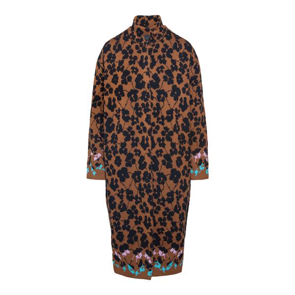 Cappotto in lana a fantasia                                                                                                                           M Missoni 2DA00053 retro