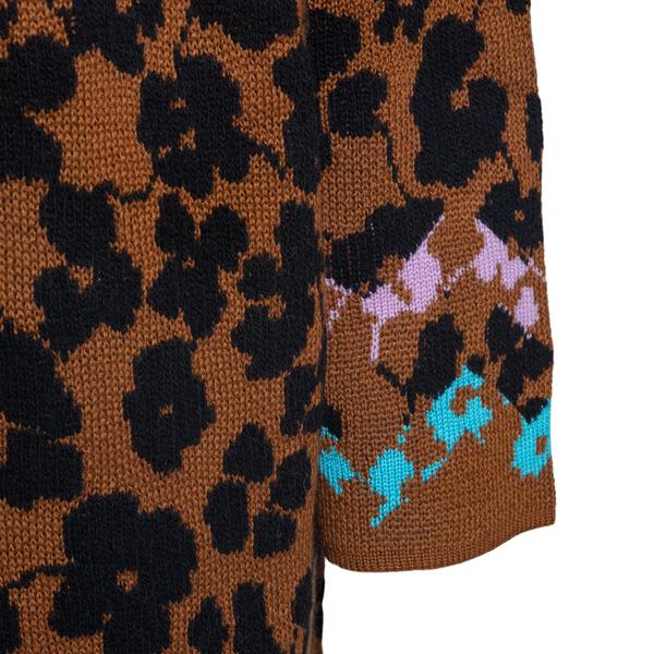 Patterned wool coat                                                                                                                                    M MISSONI