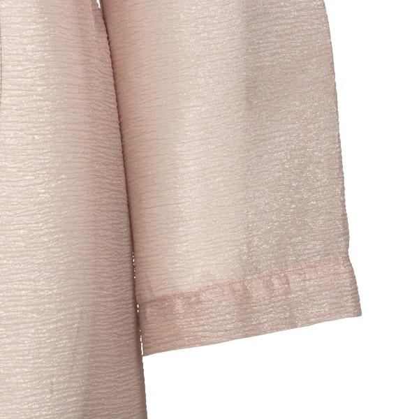 Long semi-transparent pink jacket                                                                                                                      EMPORIO ARMANI