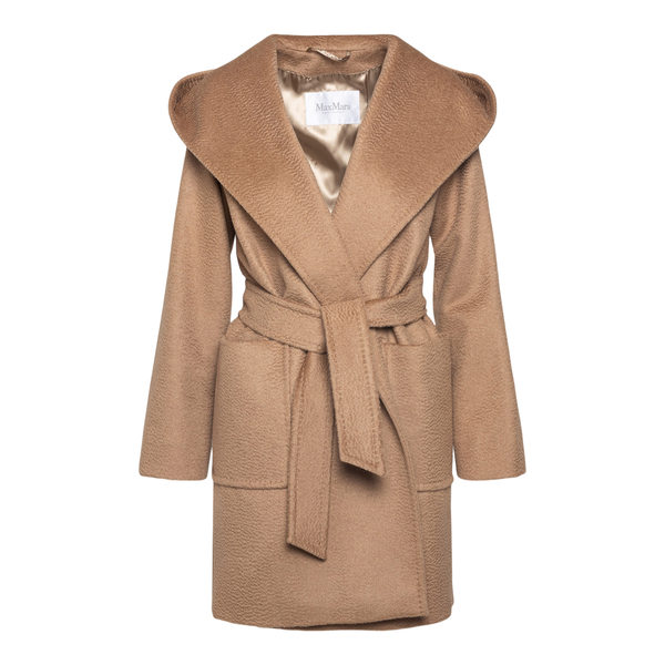Cappotto color cammello con revers ampi                                                                                                                MAX MARA                                           MAX MARA