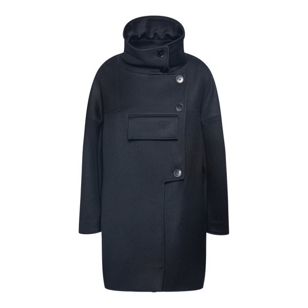 Cappotto in lana oversize                                                                                                                             Stella Mccartney 603750 retro