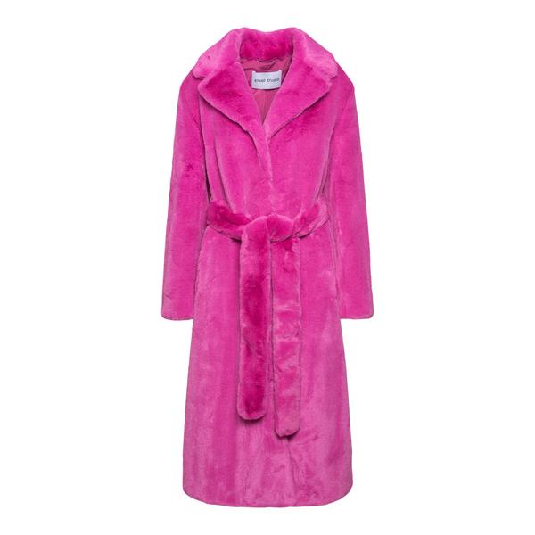 Faux fur coat                                                                                                                                          STAND STUDIO