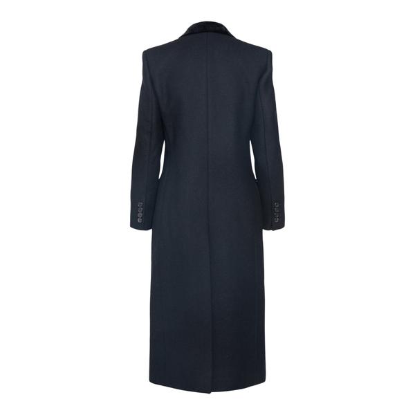 Cappotto lungo nero elegante                                                                                                                           SAINT LAURENT                                      SAINT LAURENT