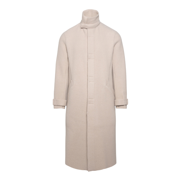 Ivory coat                                                                                                                                             EMPORIO ARMANI