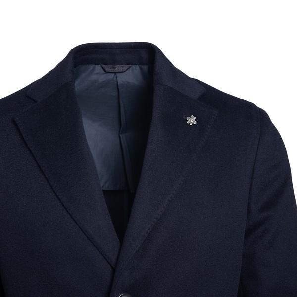 Cappotto blu navy a petto singolo                                                                                                                      LUBIAM                                             LUBIAM