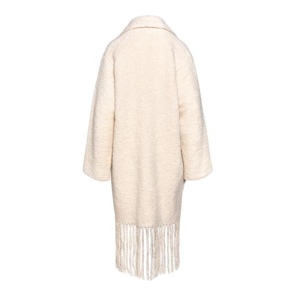 Coat with fringes                                                                                                                                      FORTE FORTE